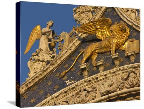 Lion of San Marco, Venice, Italy-Bill Young-Stretched Canvas Print