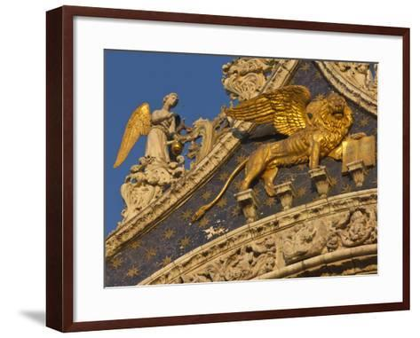 Lion of San Marco, Venice, Italy-Bill Young-Framed Art Print
