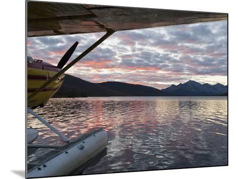 Floatplane, Takahula Lake, Alaska, USA-Hugh Rose-Mounted Photographic Print