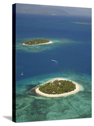 Beachcomber Island Resort and Treasure Island Resort, Mamanuca Islands, Fiji-David Wall-Stretched Canvas Print
