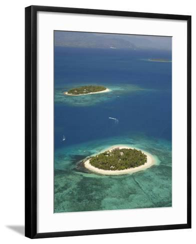 Beachcomber Island Resort and Treasure Island Resort, Mamanuca Islands, Fiji-David Wall-Framed Art Print