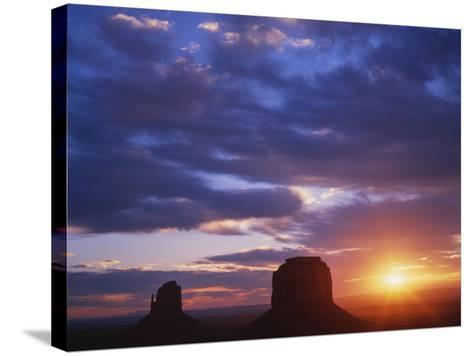 Monument Valley, Arizona, USA-Dennis Flaherty-Stretched Canvas Print
