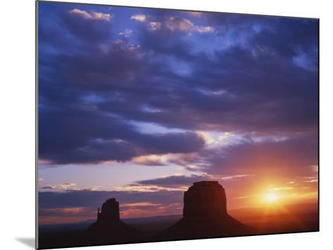 Monument Valley, Arizona, USA-Dennis Flaherty-Mounted Photographic Print