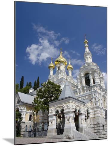 Saint Alexander Nevsky Cathedral, Yalta, Ukraine-Cindy Miller Hopkins-Mounted Photographic Print