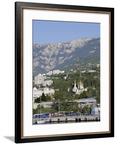 Port of Yalta, Yalta, Ukraine-Cindy Miller Hopkins-Framed Art Print