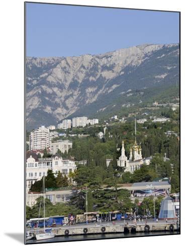 Port of Yalta, Yalta, Ukraine-Cindy Miller Hopkins-Mounted Photographic Print