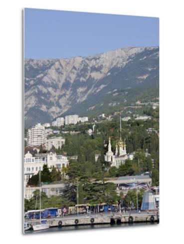 Port of Yalta, Yalta, Ukraine-Cindy Miller Hopkins-Metal Print