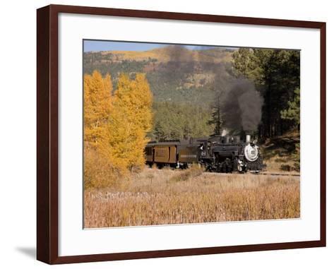 Durango and Silverton Narrow Gauge Railroad, Colorado, USA-Don Grall-Framed Art Print