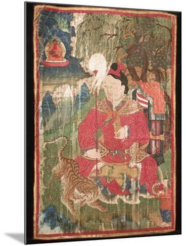 Thangkas, or Scrolls, Chemrey Monastery, Ladakh, India-Jaina Mishra-Mounted Photographic Print