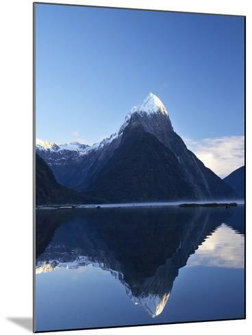 Early Light on Mitre Peak, Milford Sound, Fiordland National Park, South Island, New Zealand-David Wall-Mounted Photographic Print