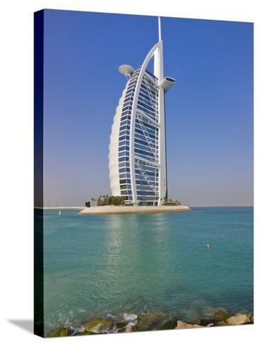 Burj Al Arab Hotel, Dubai, United Arab Emirates-Keren Su-Stretched Canvas Print