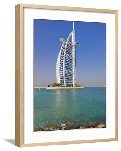 Burj Al Arab Hotel, Dubai, United Arab Emirates-Keren Su-Framed Art Print