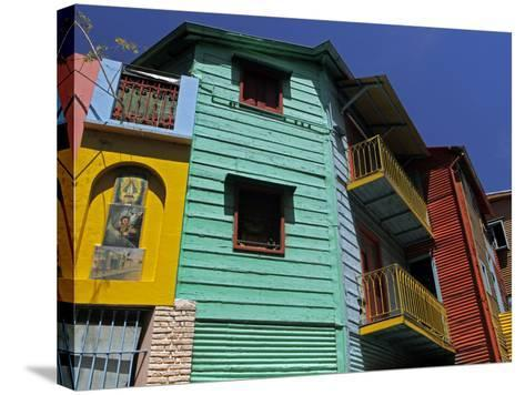 La Boca Neighborhood, Buenos Aires, Argentina-Kymri Wilt-Stretched Canvas Print
