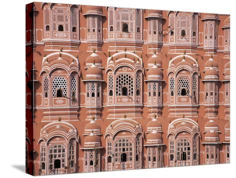 Hawa Mahal (Palace of Winds), Jaipur, Rajasthan, India-Keren Su-Stretched Canvas Print