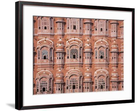 Hawa Mahal (Palace of Winds), Jaipur, Rajasthan, India-Keren Su-Framed Art Print