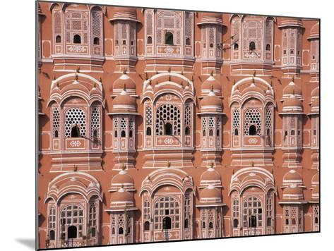 Hawa Mahal (Palace of Winds), Jaipur, Rajasthan, India-Keren Su-Mounted Photographic Print