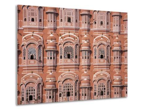 Hawa Mahal (Palace of Winds), Jaipur, Rajasthan, India-Keren Su-Metal Print