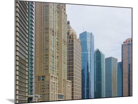 High Rises in Lujiazui Financial District, Pudong, Shanghai, China-Keren Su-Mounted Photographic Print