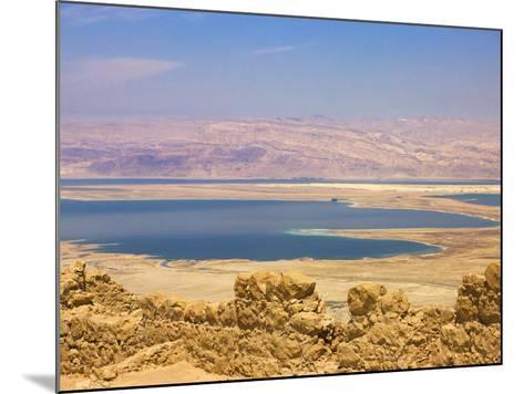 Masada Ruins, Dead Sea, Israel-Keren Su-Mounted Photographic Print