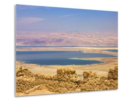 Masada Ruins, Dead Sea, Israel-Keren Su-Metal Print