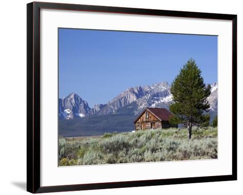 Old Barn, Sawtooth National Recreation Area, Idaho, USA-Jamie & Judy Wild-Framed Art Print