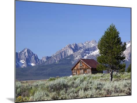 Old Barn, Sawtooth National Recreation Area, Idaho, USA-Jamie & Judy Wild-Mounted Photographic Print
