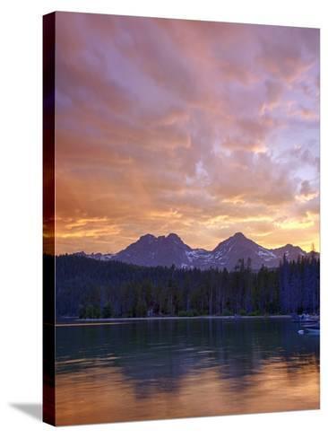 Redfish Lake, Sawtooth National Recreation Area, Idaho, USA-Jamie & Judy Wild-Stretched Canvas Print