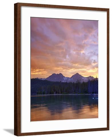 Redfish Lake, Sawtooth National Recreation Area, Idaho, USA-Jamie & Judy Wild-Framed Art Print