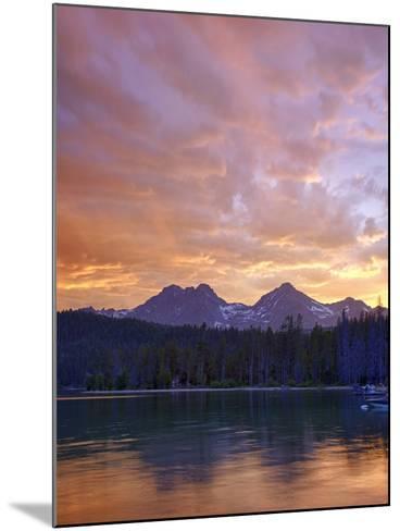 Redfish Lake, Sawtooth National Recreation Area, Idaho, USA-Jamie & Judy Wild-Mounted Photographic Print
