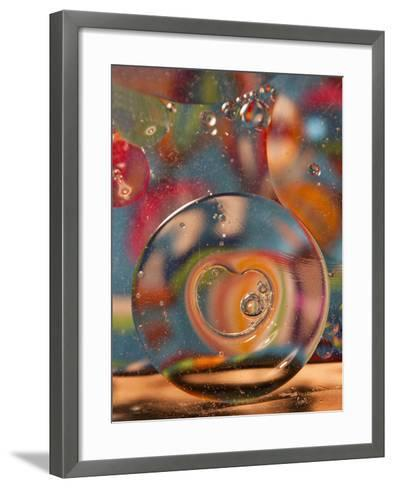 Abstract Bubbles and Colors, Savannah, Georgia, USA-Joanne Wells-Framed Art Print