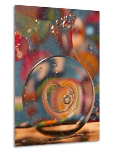 Abstract Bubbles and Colors, Savannah, Georgia, USA-Joanne Wells-Metal Print