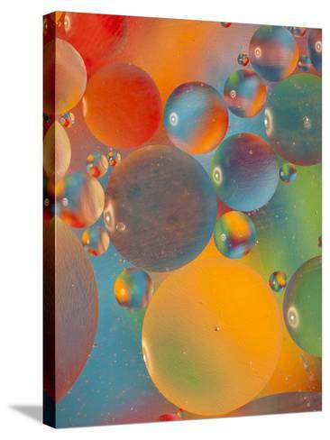Abstract Bubbles and Colors, Savannah, Georgia, USA-Joanne Wells-Stretched Canvas Print