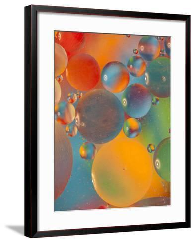 Abstract Bubbles and Colors, Savannah, Georgia, USA-Joanne Wells-Framed Art Print