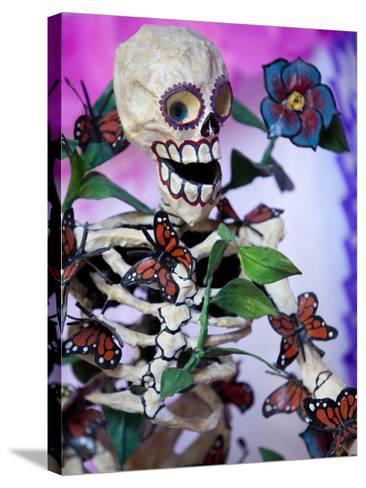 Day of the Dead Altar, San Miguel De Allende, Mexico-John & Lisa Merrill-Stretched Canvas Print