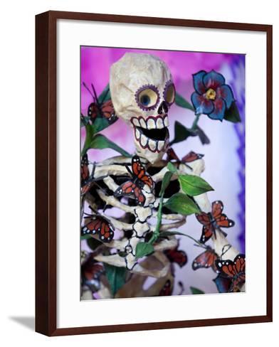 Day of the Dead Altar, San Miguel De Allende, Mexico-John & Lisa Merrill-Framed Art Print
