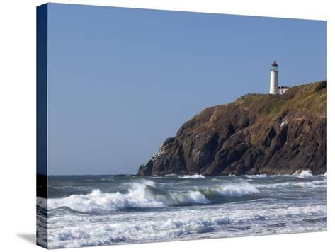 North Head Lighthouse, Cape Disappointment State Park, Washington, USA-Jamie & Judy Wild-Stretched Canvas Print