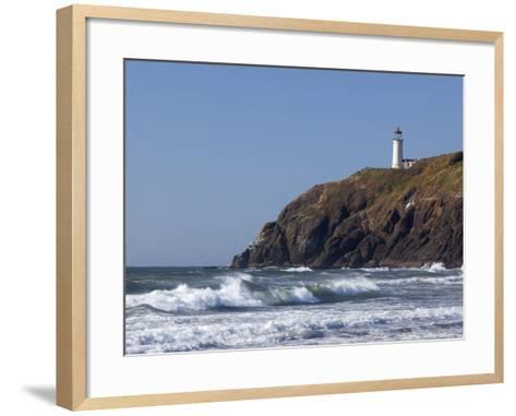 North Head Lighthouse, Cape Disappointment State Park, Washington, USA-Jamie & Judy Wild-Framed Art Print