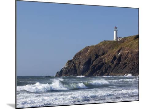 North Head Lighthouse, Cape Disappointment State Park, Washington, USA-Jamie & Judy Wild-Mounted Photographic Print