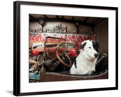 Route 66, Prewitt, New Mexico, USA-Julian McRoberts-Framed Art Print