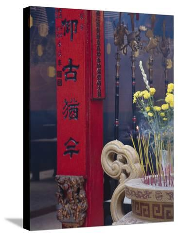 Chinese Temple, Vietnam-Keren Su-Stretched Canvas Print
