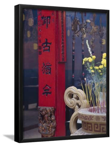 Chinese Temple, Vietnam-Keren Su-Framed Art Print