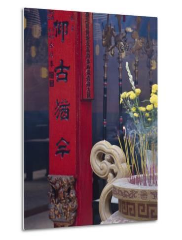 Chinese Temple, Vietnam-Keren Su-Metal Print