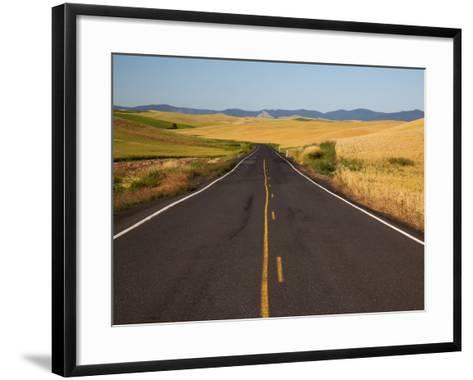 Palouse Farmland, Whitman County, Washington, USA-Jamie & Judy Wild-Framed Art Print