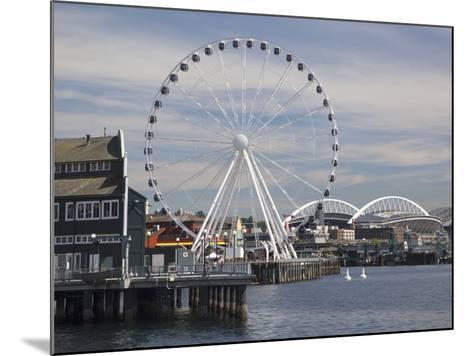 The Seattle Great Wheel, Seattle, Washington, USA-Jamie & Judy Wild-Mounted Photographic Print
