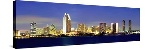 San Diego Skyline, California, USA-John Alves-Stretched Canvas Print