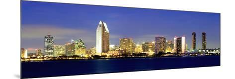 San Diego Skyline, California, USA-John Alves-Mounted Photographic Print