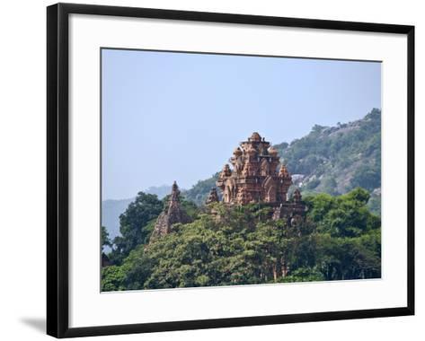 Po Nagar Cham Towers, Vietnam-Keren Su-Framed Art Print