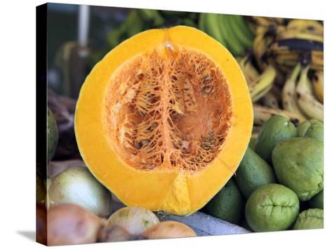 Fresh Vegetables and Fruits at the Local Market in St John's, Antigua, Caribbean-Kymri Wilt-Stretched Canvas Print