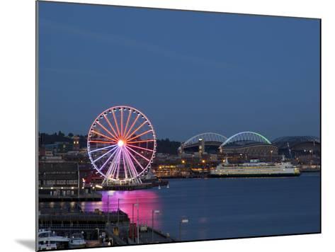 The Seattle Great Wheel, Seattle, Washington, USA-Jamie & Judy Wild-Mounted Photographic Print