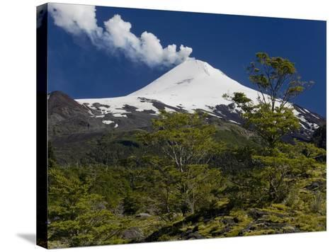 Villarrica Volcano, Villarrica National Park, Chile-Scott T^ Smith-Stretched Canvas Print
